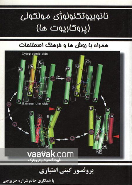 تصویر روی جلد کتاب نانوبیوتکنولوژی مولکولی (پروکاریوتها)