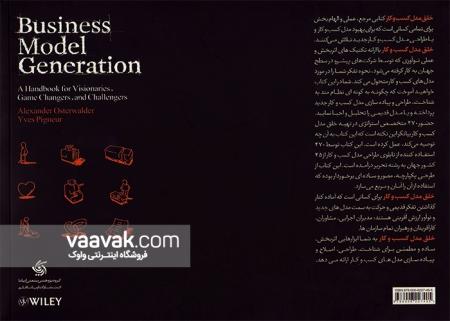 تصویر پشت جلد کتاب خلق مدل کسب و کار