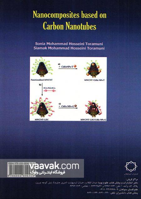 تصویر پشت جلد کتاب نانوکامپوزیتها بر پایه نانولولههای کربنی